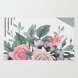 FLOWERS IX Rug