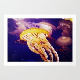 West Coast Nettle Art Print
