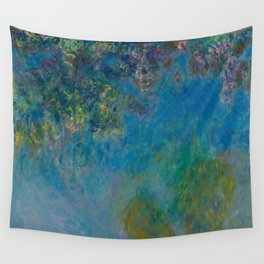 Claude Monet - Wisteria Wall Tapestry