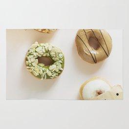 Diverse Donuts Bakery Shop Rug