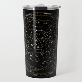 Star Chart of the Northern Hemisphere Travel Mug