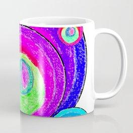 Colorful Secret Geometry   painting by Elisavet #society6 Coffee Mug
