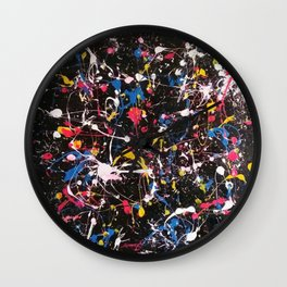 Konfetti Wall Clock