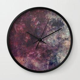 acrylic grunge Wall Clock
