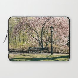 Magnolia's Bloom in Central Park Laptop Sleeve