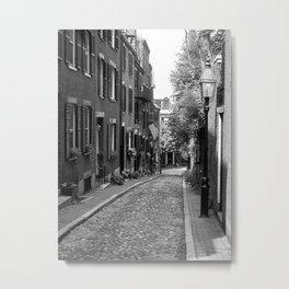 Acorn Street, Boston MA Metal Print