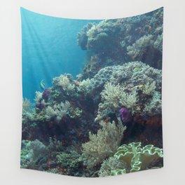 Raja Ampat reef portrait Wall Tapestry