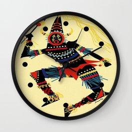 Vintage Cuba Costumed Dancer Travel Wall Clock