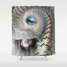 fashion surreal Shower Curtain