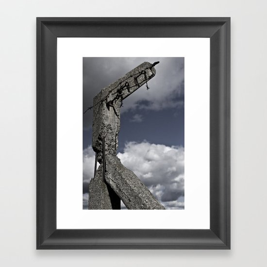 Modern Ruin Framed Art Print