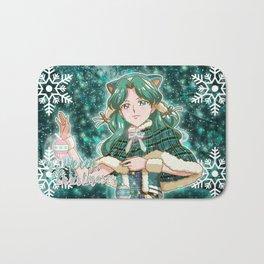 Merry Xmas Michiru! Bath Mat
