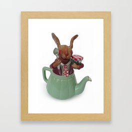 TEA TIME 1 Framed Art Print