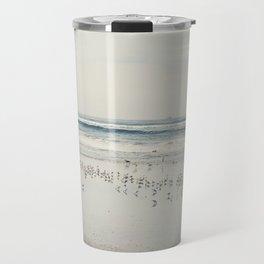 Beach Birds Travel Mug