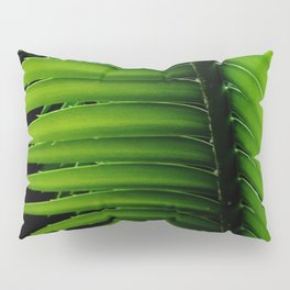 Palm tree leaf - tropical decor Pillow Sham