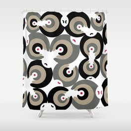 Mano Semilla/Hand Seed Shower Curtain