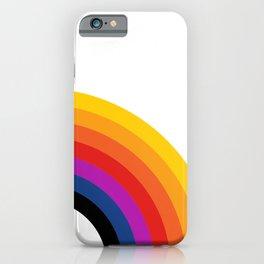 Retro Rainbow - Right iPhone Case