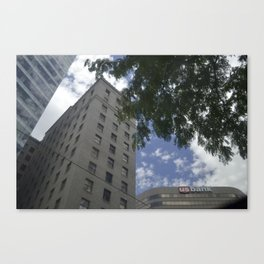 The City Life Canvas Print