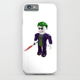 The Joker - Roblox iPhone Case
