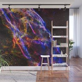 Veil Nebula Supernova Remnant (Detail) Wall Mural
