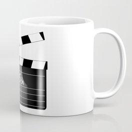 25th Year Clapperboard Coffee Mug