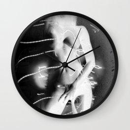 Fosforescent Milk Wall Clock