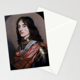 Gerard van Honthorst - Prince Rupert of the Rhine, Count Palatine, Duke of Cumberland (1619-1682) Stationery Cards