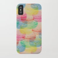macaroon iPhone & iPod Cases featuring Macaroon Madness by Tyler Spangler