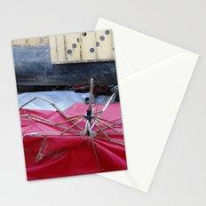 Umbrella Blues 2 Stationery Cards