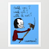 dr seuss Art Prints featuring Dr Seuss' The Shining by thunderbloke!