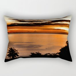 Sea Reflection Crystallized Rectangular Pillow