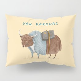 Yak Kerouac Pillow Sham