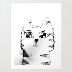 Cat for Sale Art Print