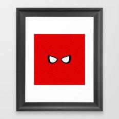 Spider Look Framed Art Print