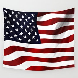 American Flag USA Wall Tapestry