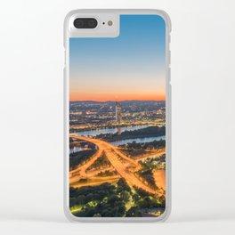 VIENNA 03 Clear iPhone Case