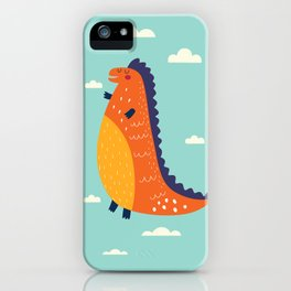 Funny Dinosaur iPhone Case