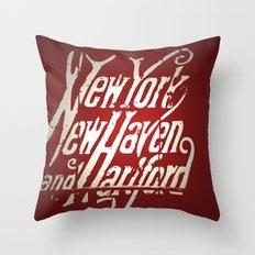 Railroad Museum Throw Pillow