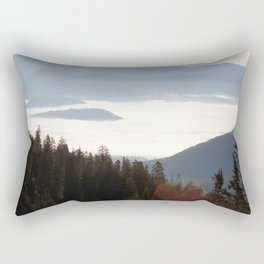 Above the Clouds in the Pass Rectangular Pillow