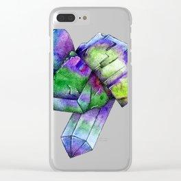 Fluorite Clear iPhone Case