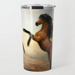 Wild Horses Travel Mug