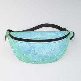 Abstract Sea Glass Fanny Pack