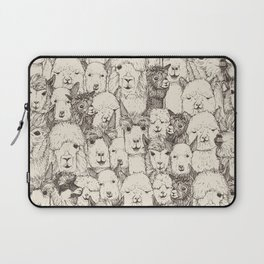 just alpacas natural Laptop Sleeve