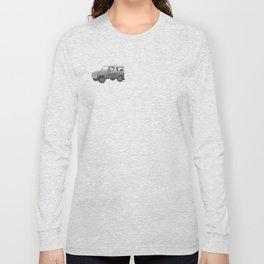Retro Landrover Long Sleeve T-shirt