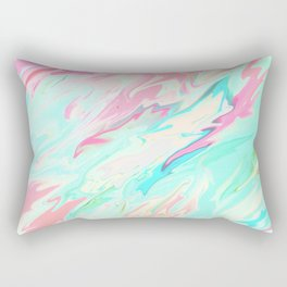 Sea of Spring Rectangular Pillow
