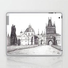 Charles Bridge in Prague, Czech Republic Laptop & iPad Skin