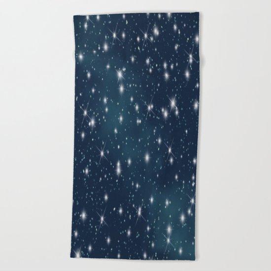 sky-183 Beach Towel