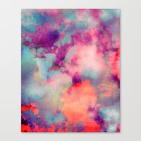 tchmo Canvas Prints featuring Untitled 20110625p (Cloudscape) by tchmo
