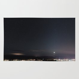 Arizona Desert Night Sky Stars Rug