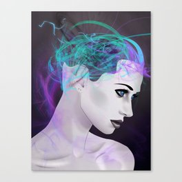 Assimilate the Body, Free the Mind Canvas Print