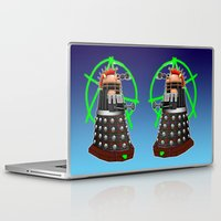 dalek Laptop & iPad Skins featuring Punk Dalek by Andrew Mark Hunter